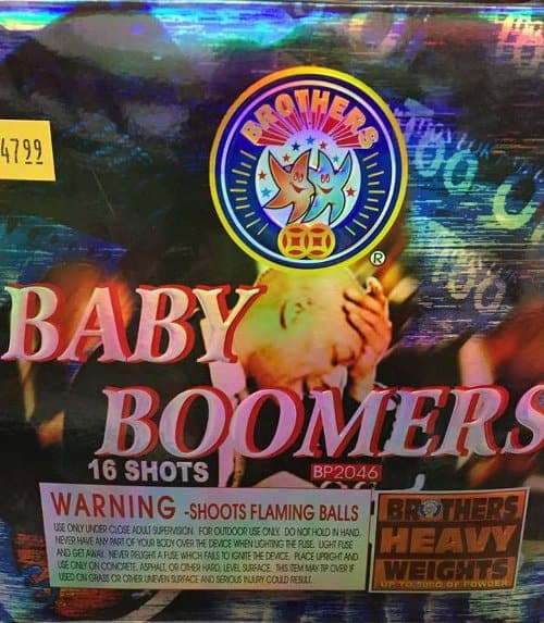 Baby Boomers Brothers Fireworks