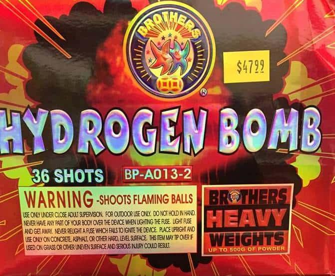 Hydrogen Bomb Brothers Fireworks
